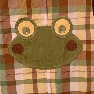 One Pieces - Bailey Boys 24M reversible longall Fox/frog